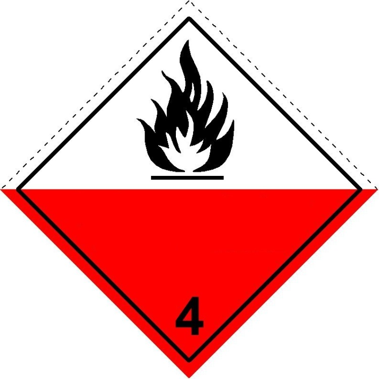 4.2 substances liable to spontaneous combustion