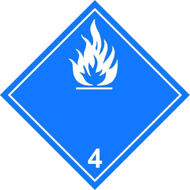 4.3 substances which in contact with water emit flammable gases