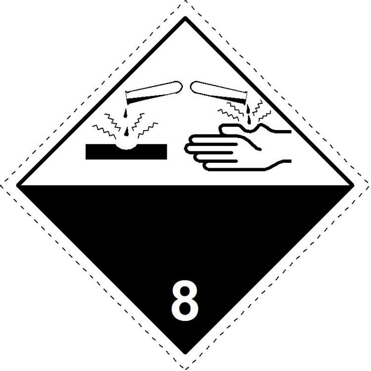 8 Corrosive substances