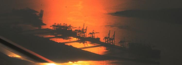 Container Terminal - Photo by Shashi Kallada