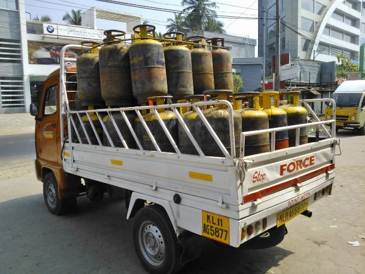 LPG Cylinders without HAZCHEM warning